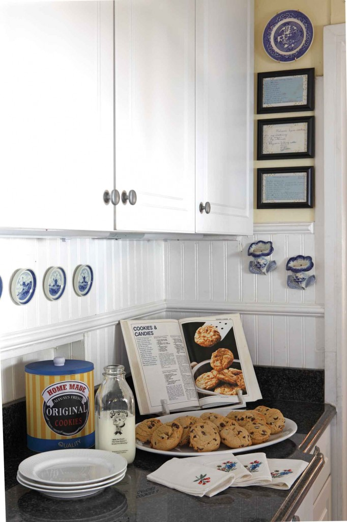 country cottage kitchen look