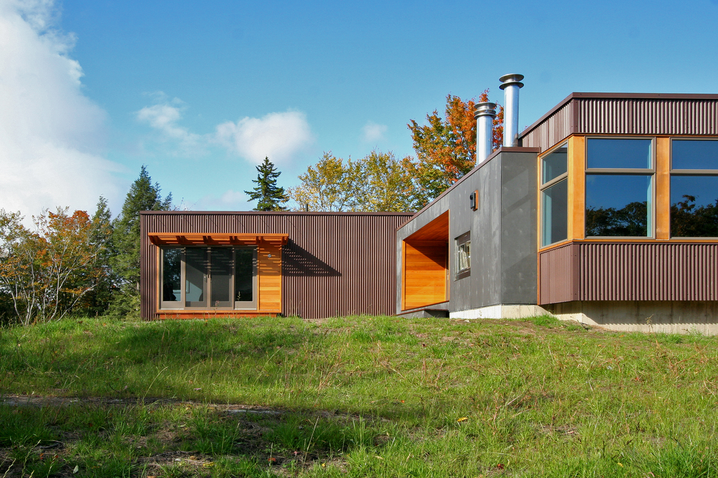 vermont cabin - Prefabricated Luxury Homes