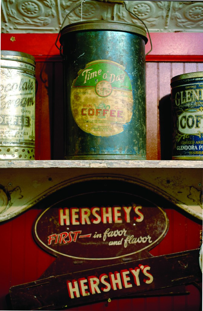 Antique canisters