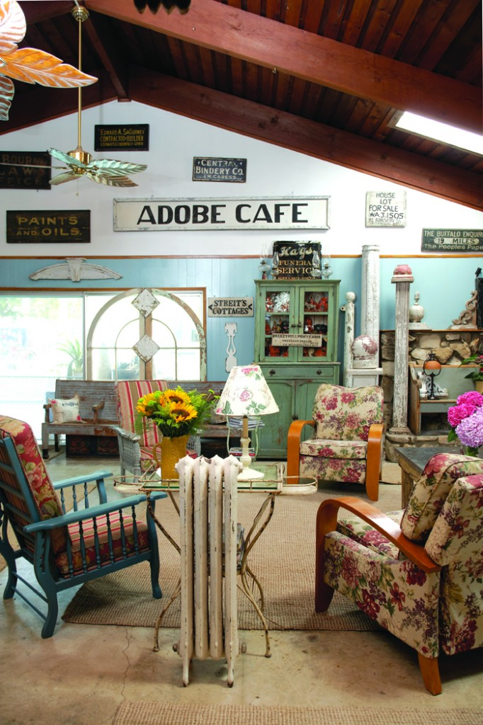 vintage chic house