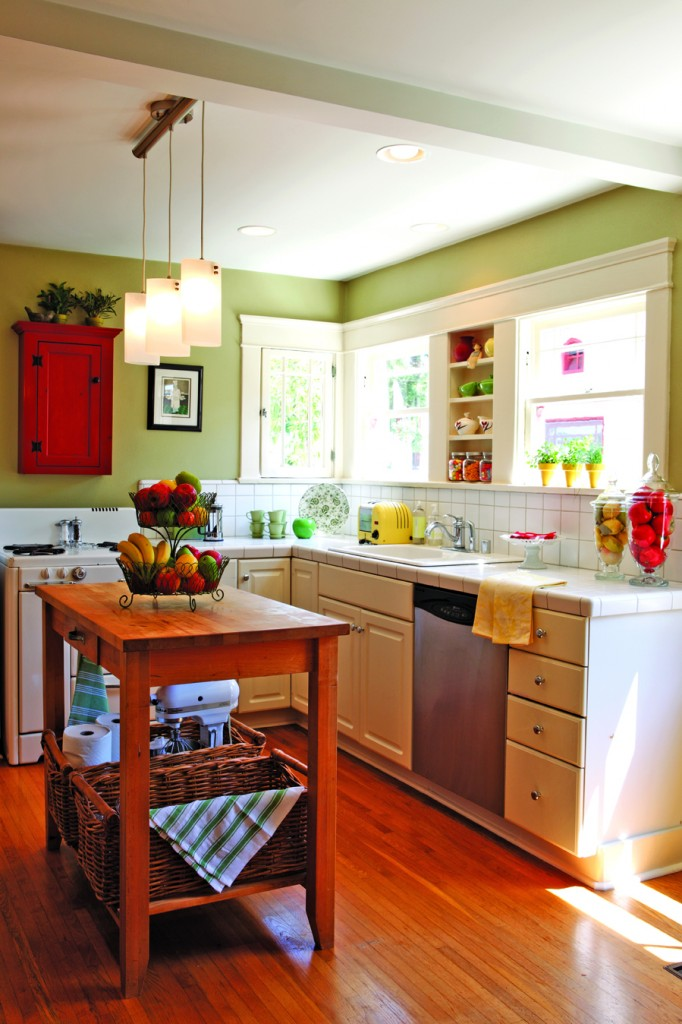 Color in a Small Kitchen