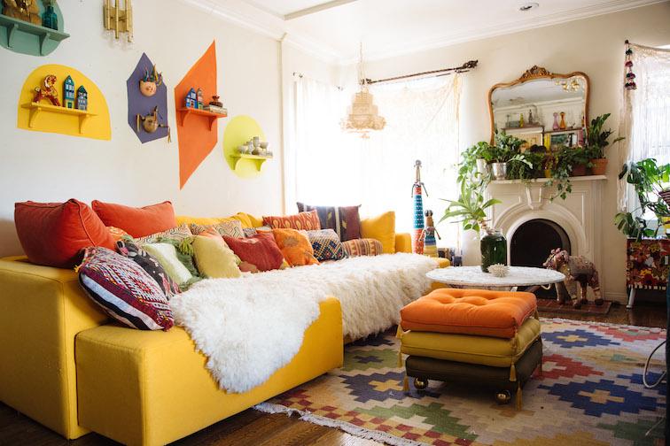 Justina Blakeney Living Room
