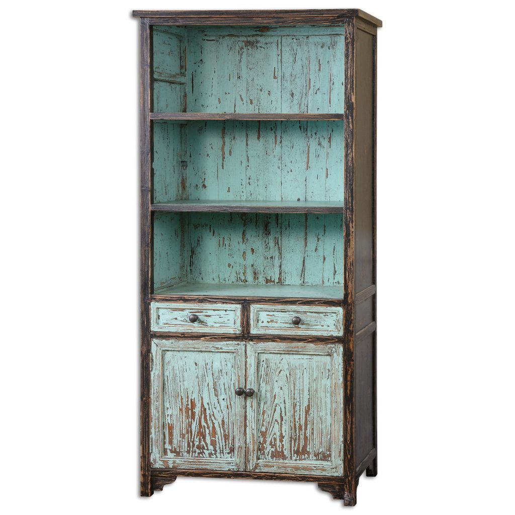 Black and Blue Cabinet