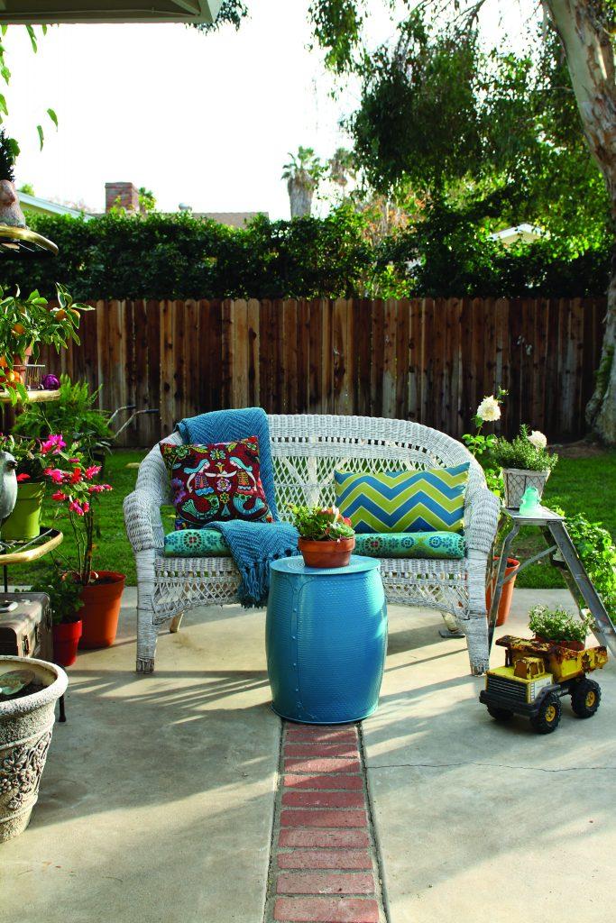 Cozy Garden Seating Area