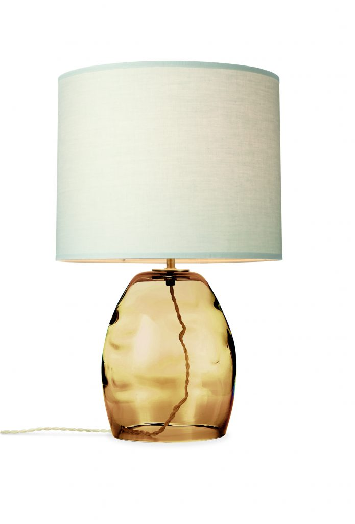 Table Lamp in Honey