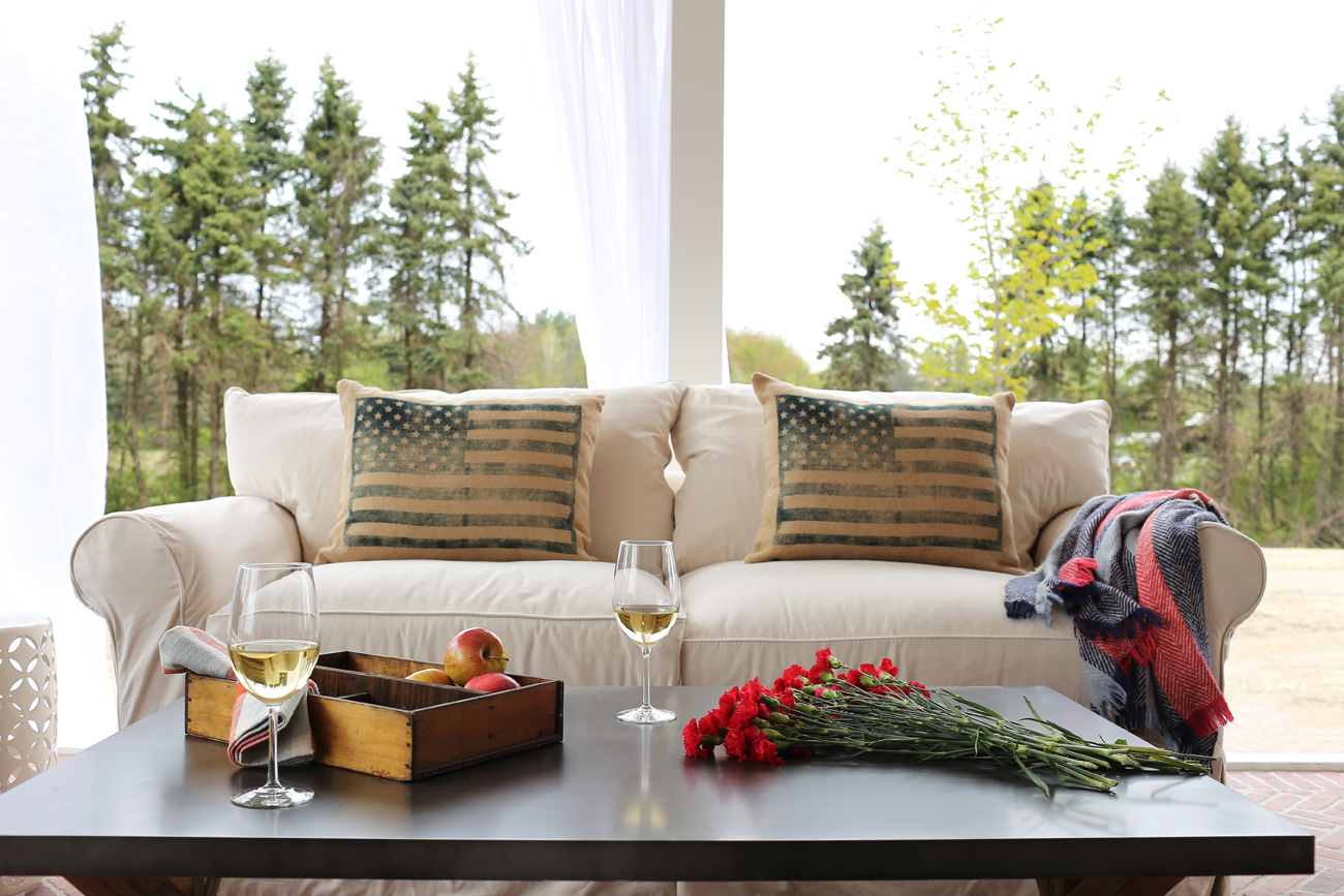 The Bridgers put the finishing touches on their renovated home and made room in the budget for a four seasons room where they can unwind outside and enjoy Michigan's nature.