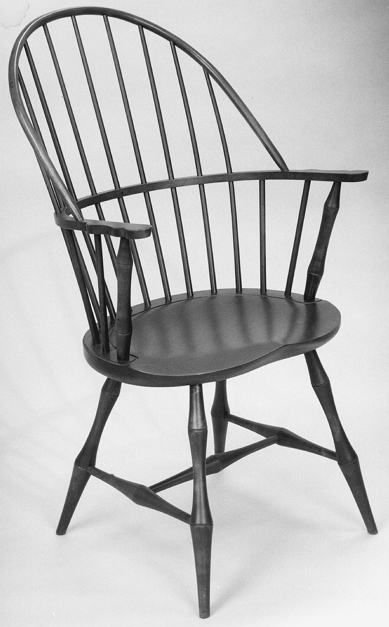 124AB Windsor Arm Chair