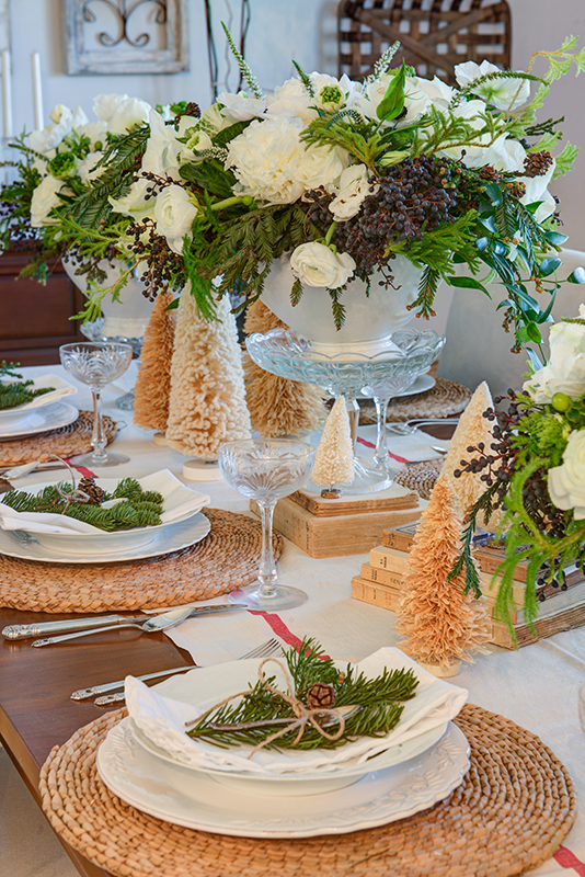 Jodie Kammerer's holiday table