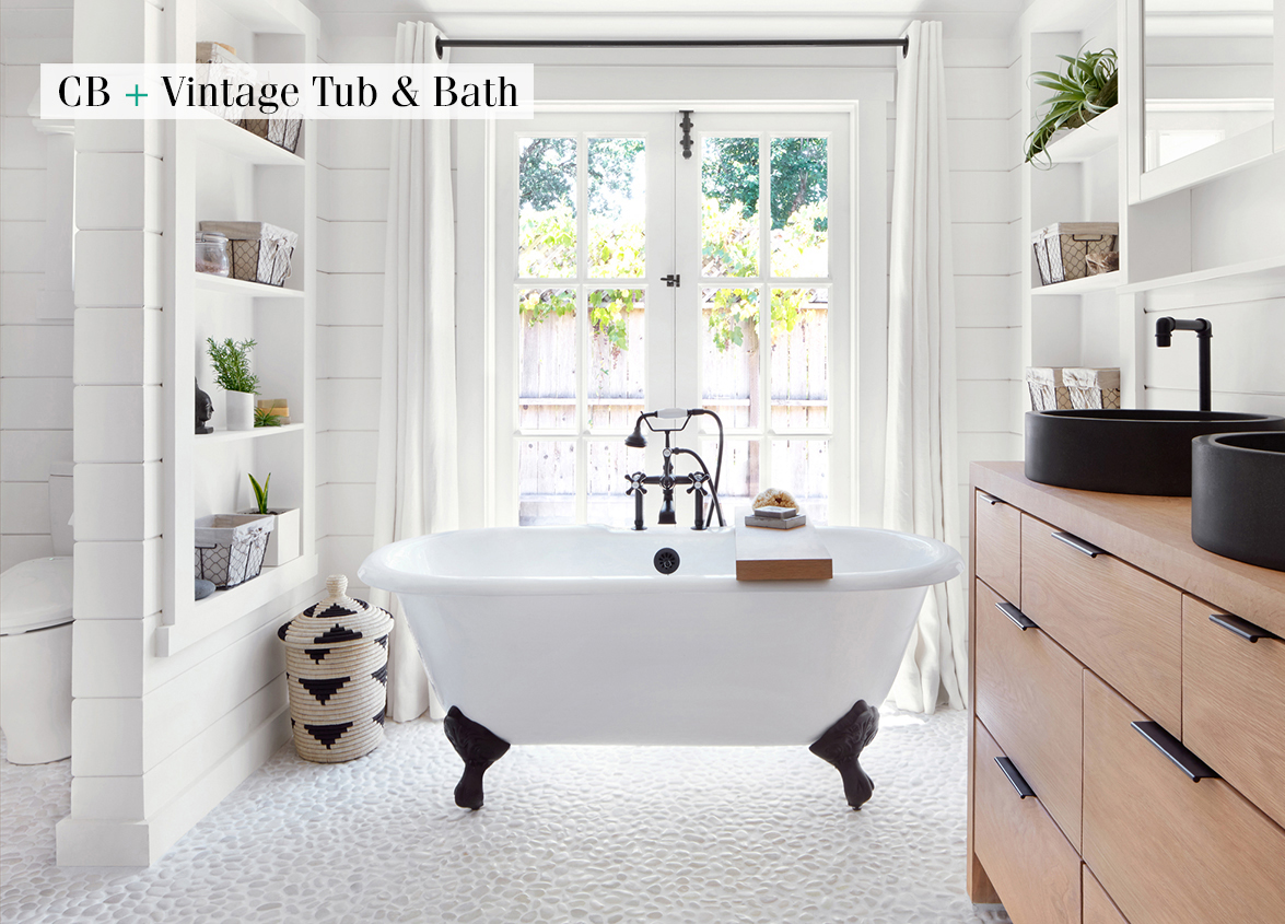 A Guide to Clawfoot Bathtubs - Cottage style decorating, renovating ...