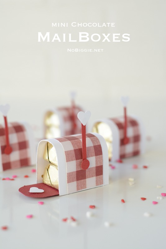 DIY candy mailboxes valentines