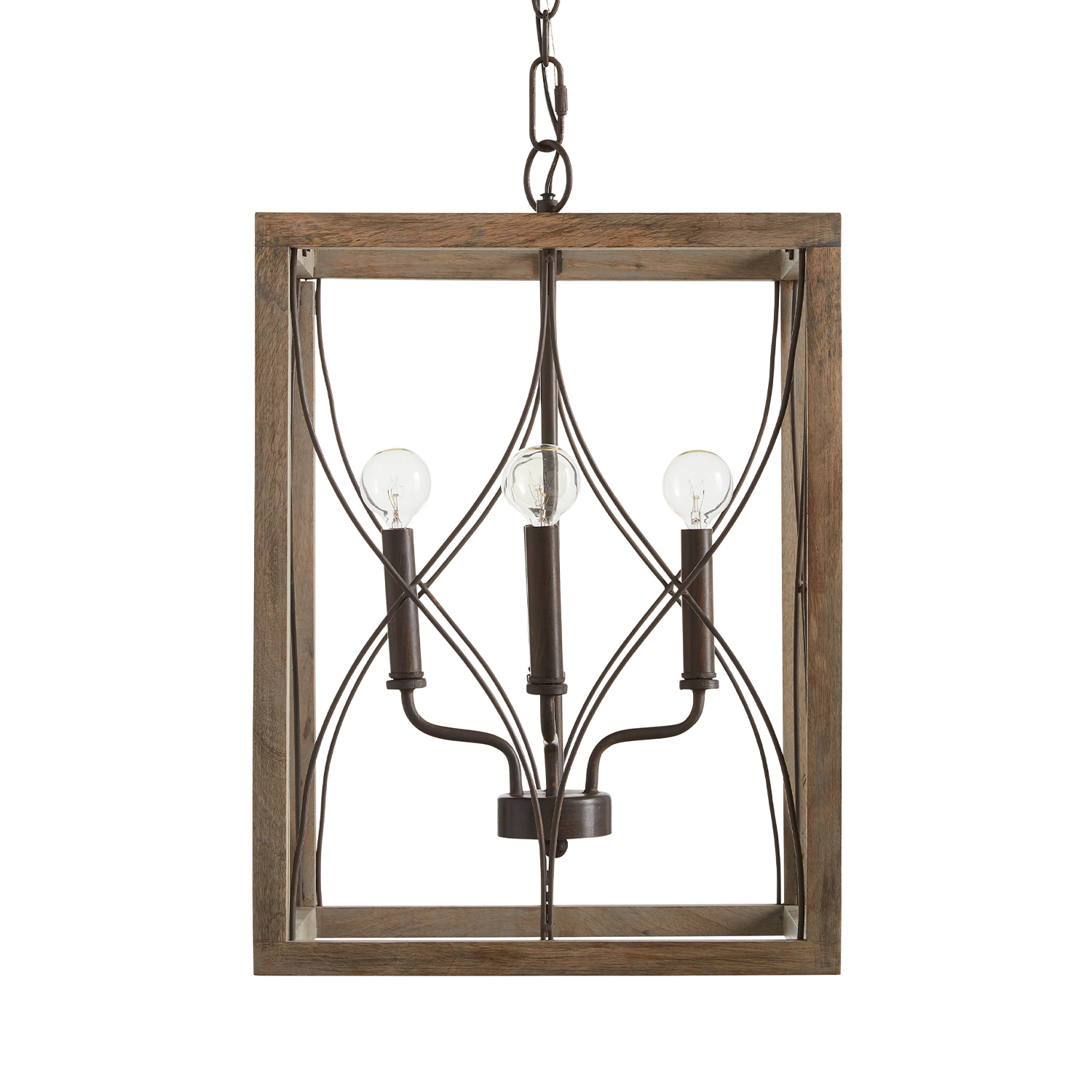 Tybee 4-light foyer pendant