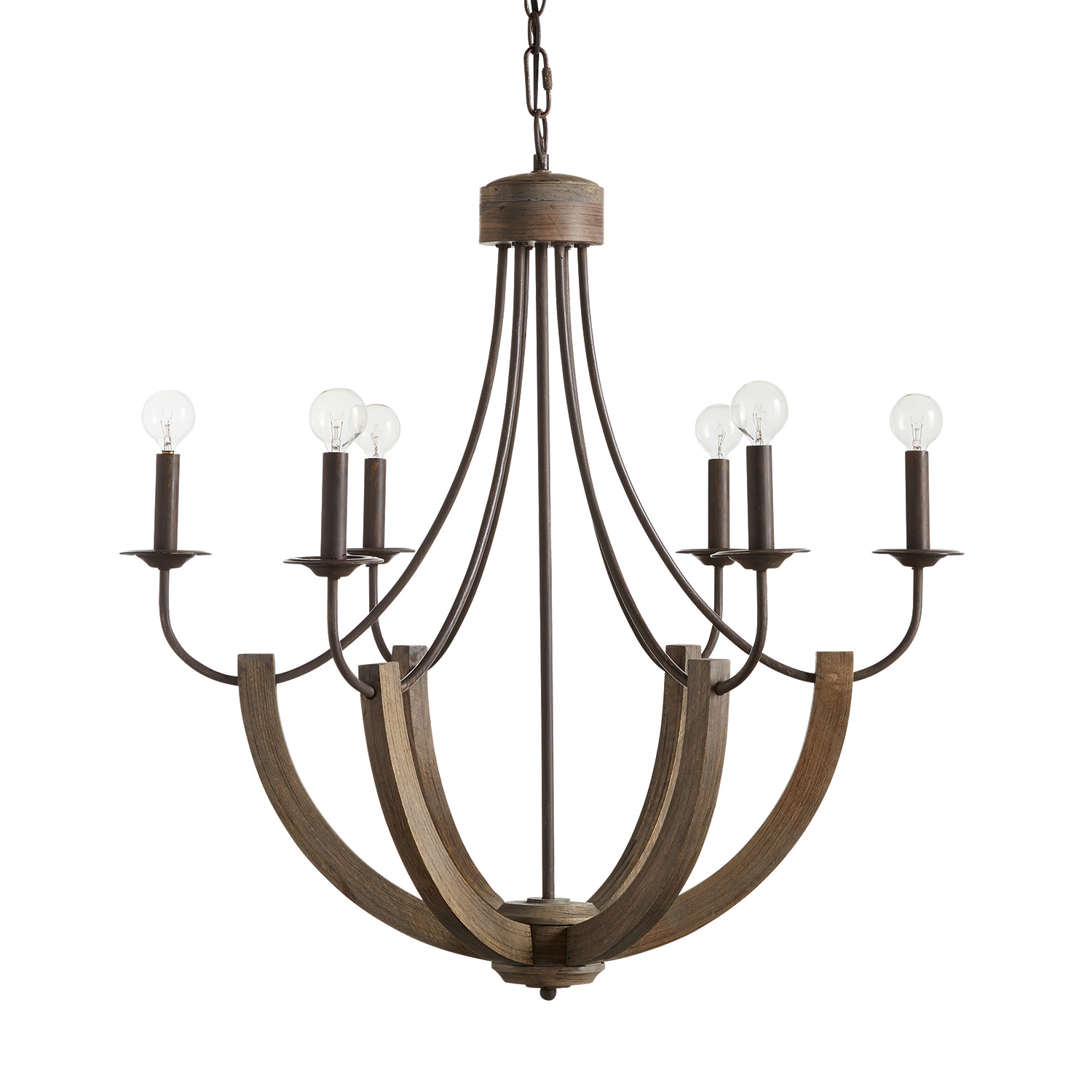 Tybee six light chandelier cottage style decorating renovating tybee six light chandelier arubaitofo Choice Image