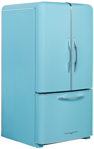 Northstat model 1950 blue fridge
