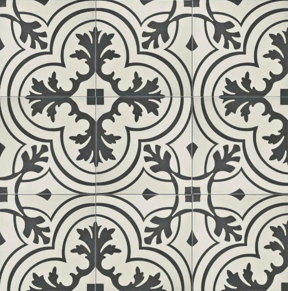 Twenties Vintage Ceramic Tile