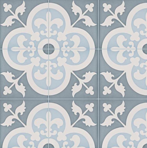 Empress Ocean Cement Tile