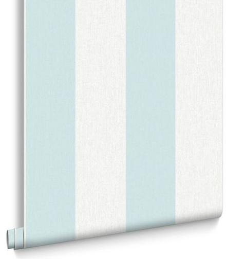 Calico Stripe Wallpaper