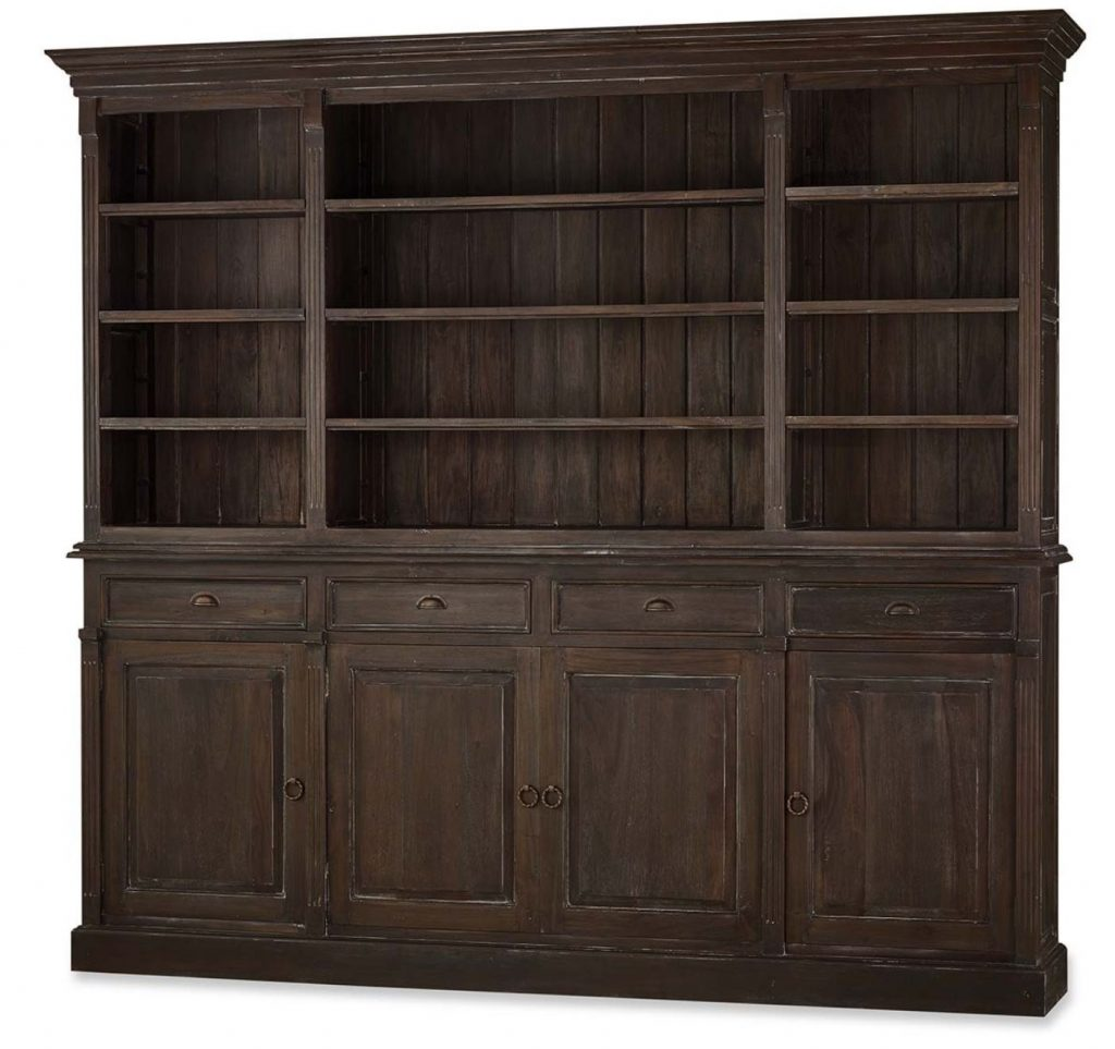 Hudson open bookcase is perfect for a craftsman home.