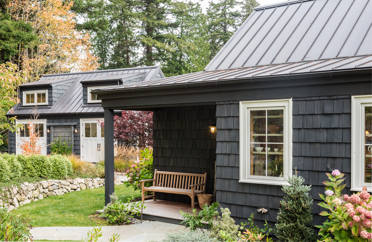 Bainbridge Island Cottage Porch