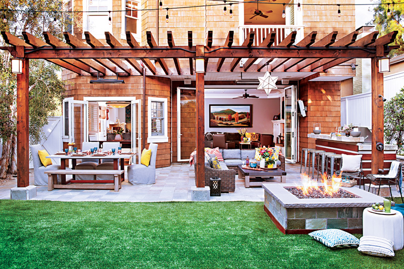 How To Design The Best Backyard For Entertaining Cottage Style