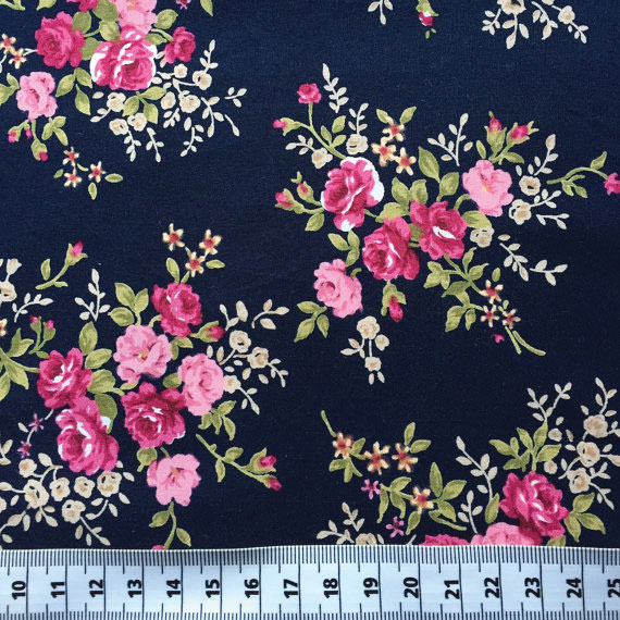 Floral pattern fabric to go on bulletin board