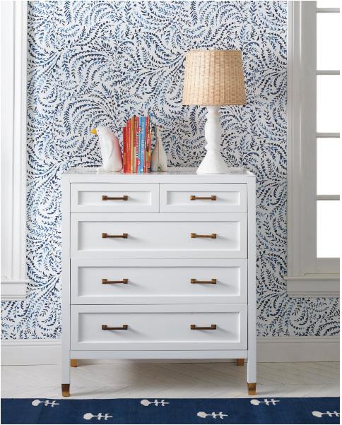 blu wavy patterned wallpaper