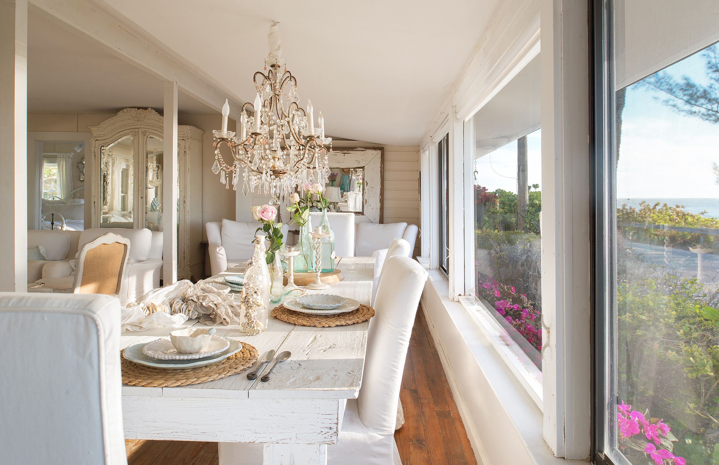 Dining room with an open floorplan