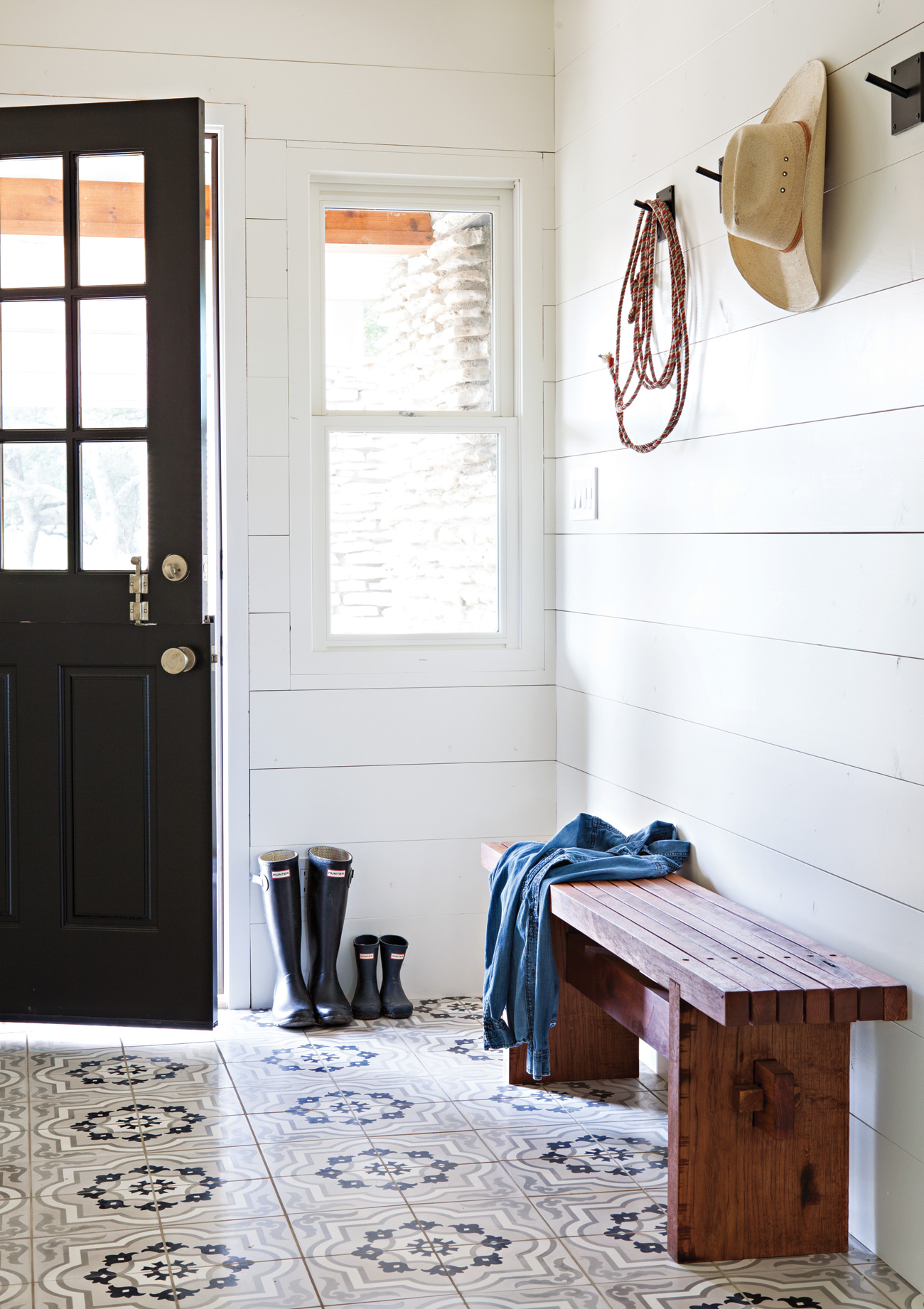 Ranch mudroom