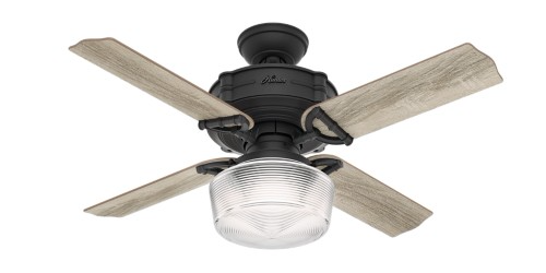 Brunswick outdoor fan with light (44 inch) by Hunter Fan.