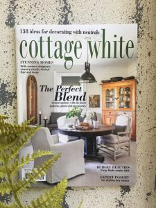 Purchase the latest issue of Cottage White on newsstands or online now!