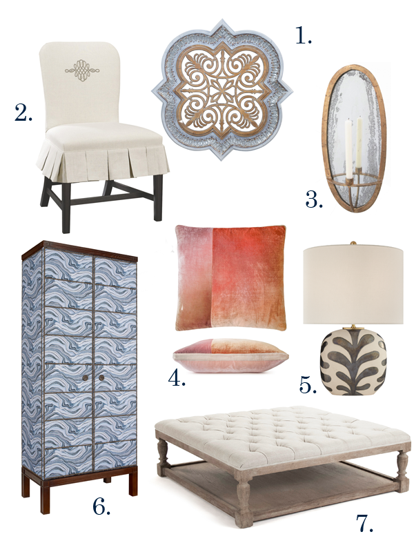 Home décor items for fall from Painted Fox Home, Hooker Furniture, Quatrine, Kevin O'Brien Studio, Circa Lighting and Houzz.