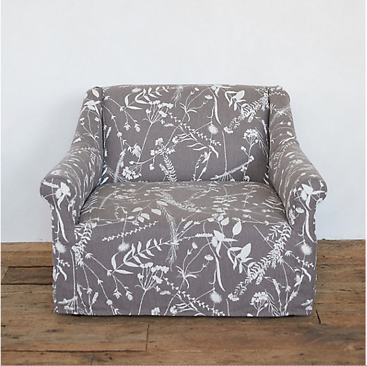 Wondrous Upholstered Arm Chair Cottage Style Decorating Renovating Home Interior And Landscaping Oversignezvosmurscom