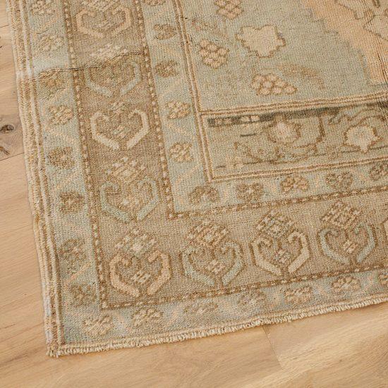 Area rug up close