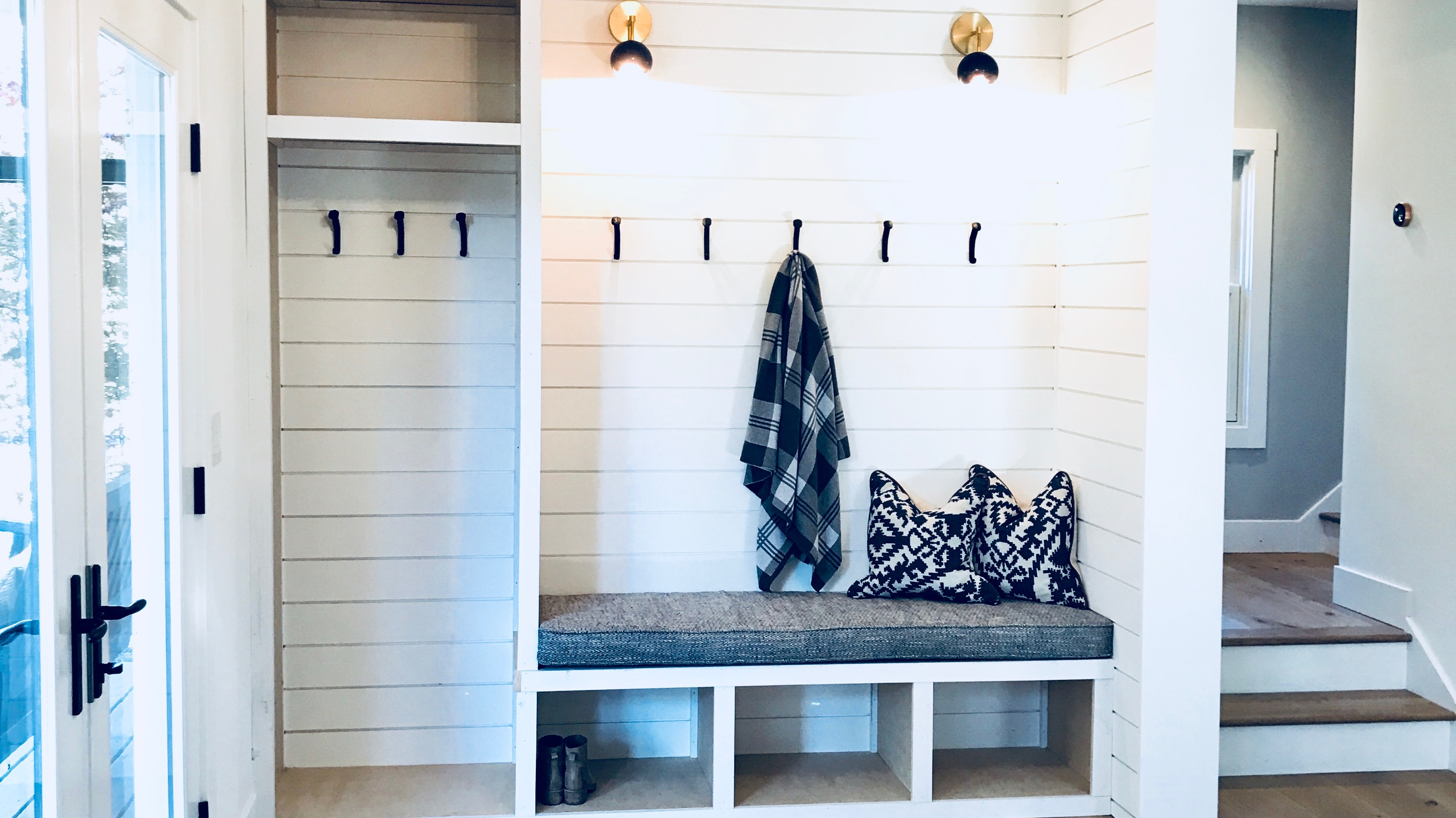 Victory Farms How To Turn An Entry Closet Into A Mudroom Cottage Style Decorating Renovating And Entertaining Ideas For Indoors Out