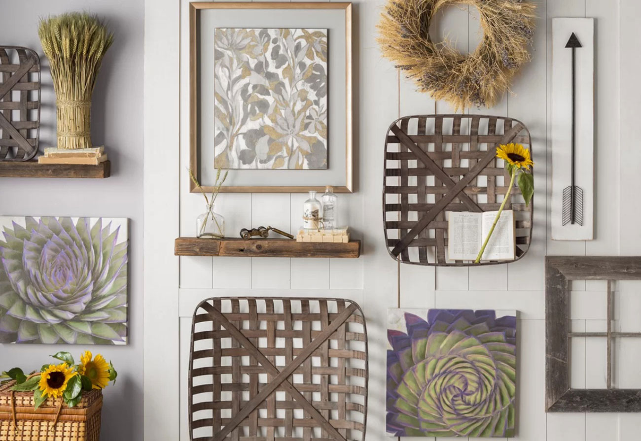 Tobacco Baskets Trending Now Cottage Style Decorating