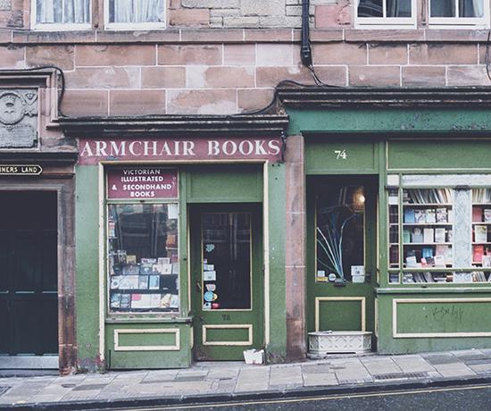 Antique book store
