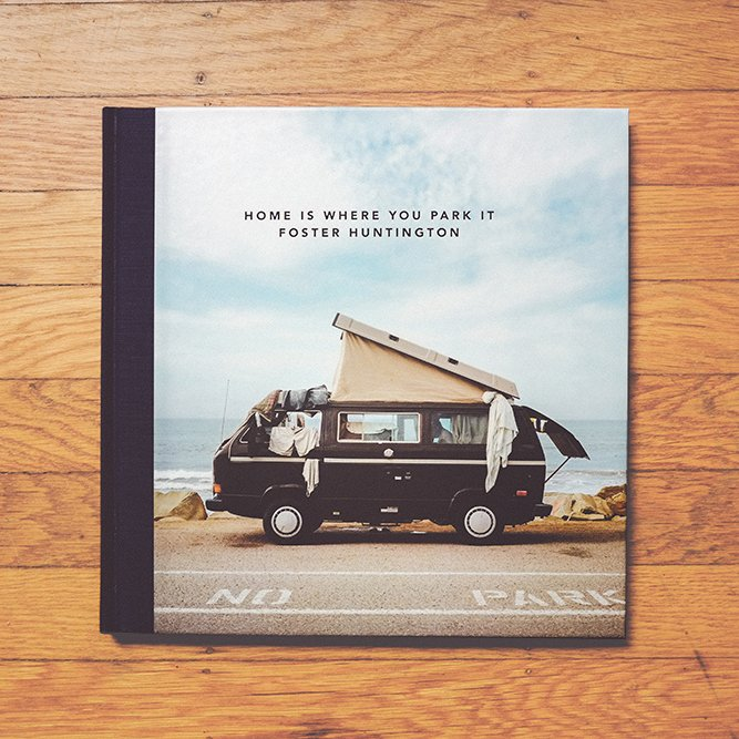 Shot by Photographer Foster Huntington, this book about mobile homes in all forms will inspire-- or fuel-- his wanderlust. Home is Where You Park It