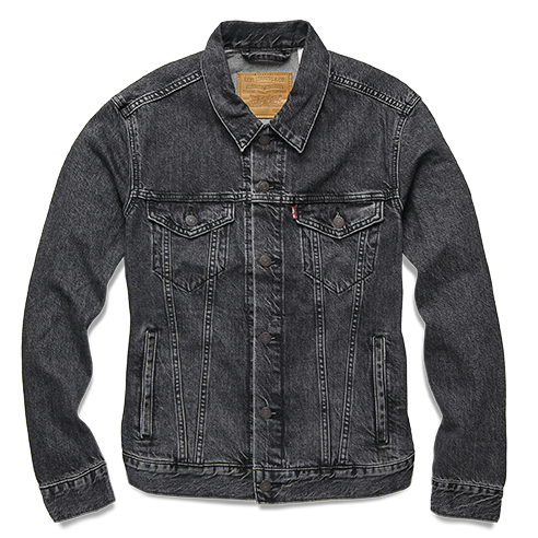 Distressed denim that's always in fashion, Levi's 1967 iconic jacket will be sure to last and keep him looking sharp. Trucker jacket – Fegin.