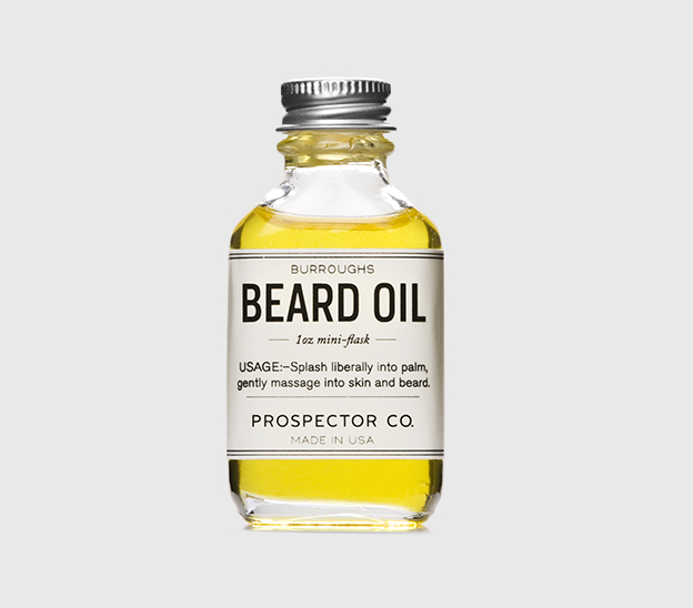 Looking for a natural, earthy scent and healthy beard management? This jojoba-based oil is the perfect pick. Burroughs beard oil.