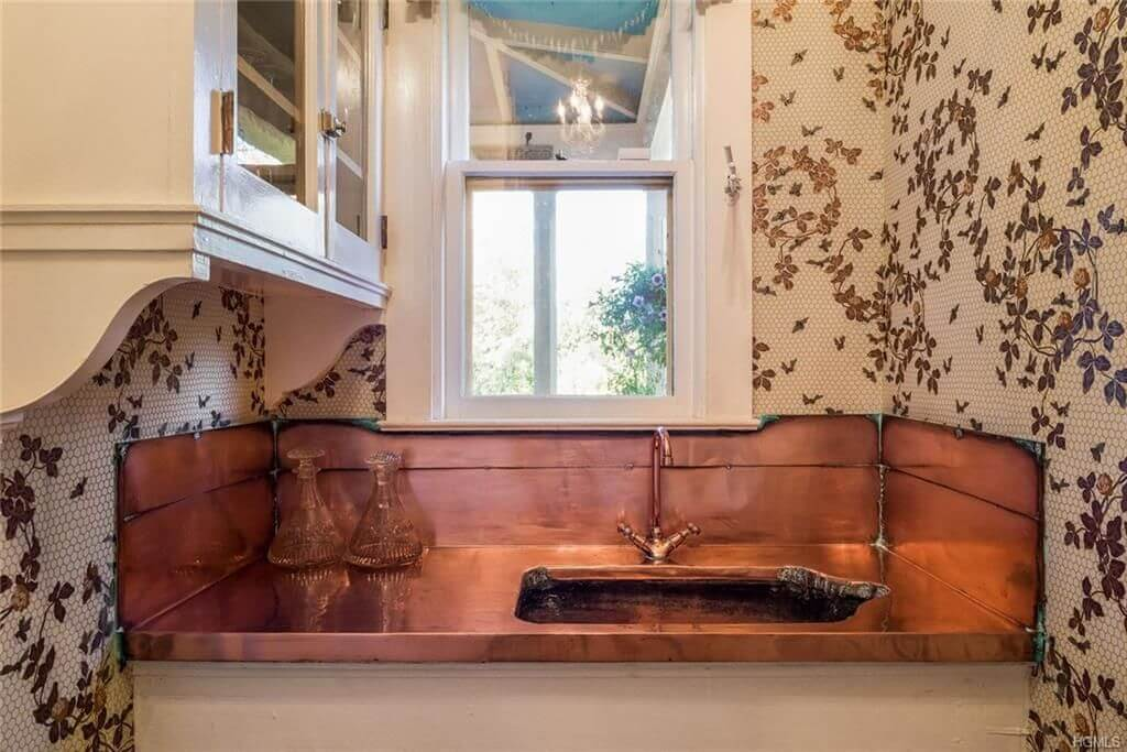 historic copper sink