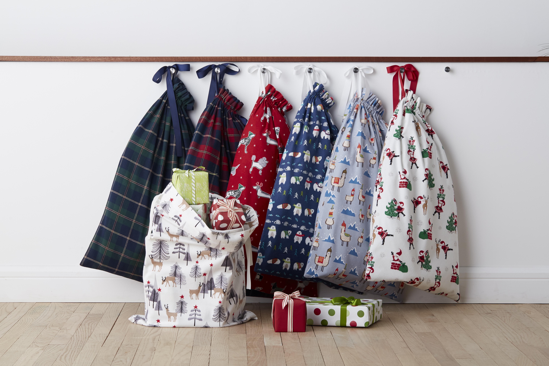 Santa sacks by The Company Store