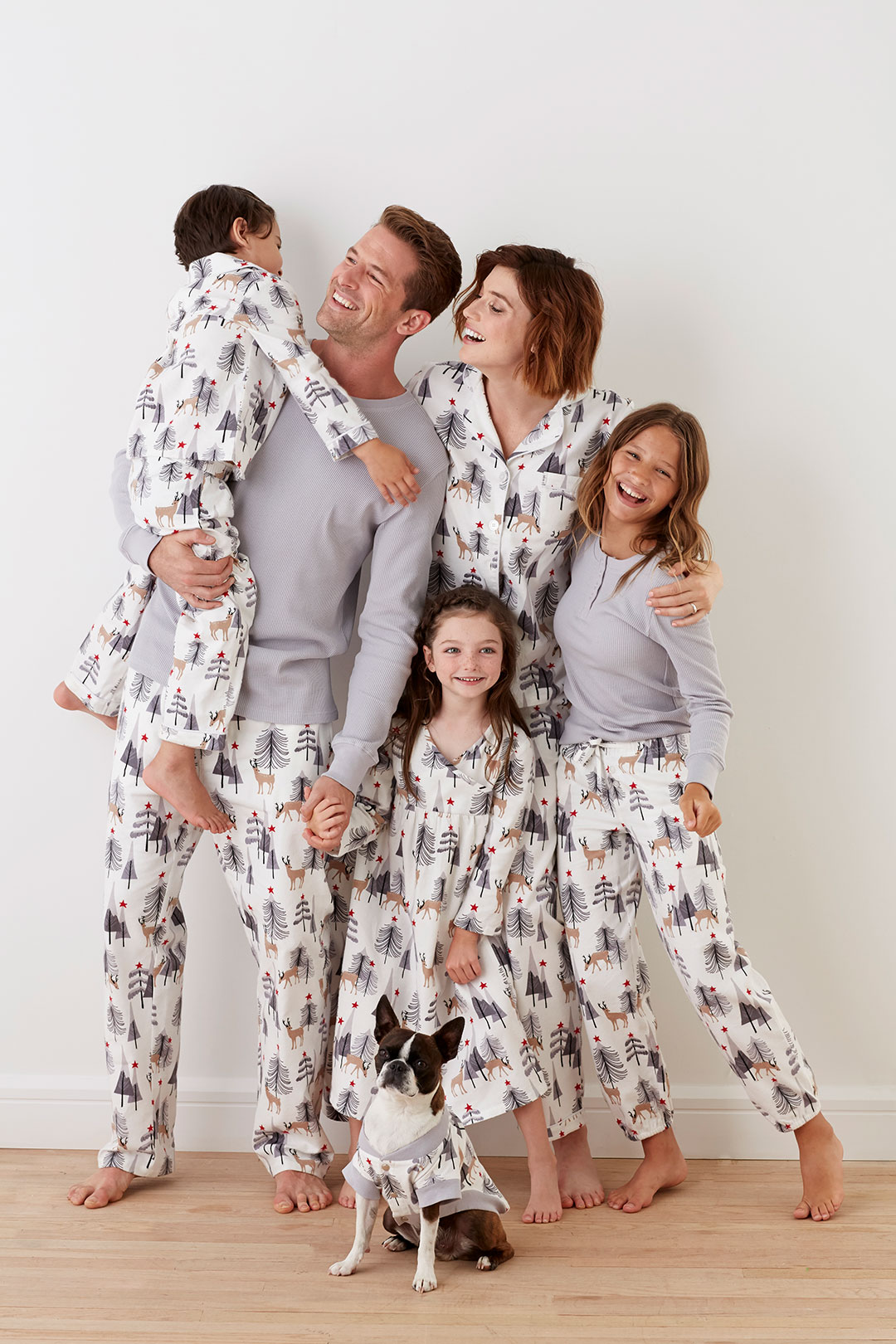 Matching flannel PJs for the whole family by The Company Store