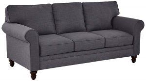 Ravenna Home rolled arm sofa