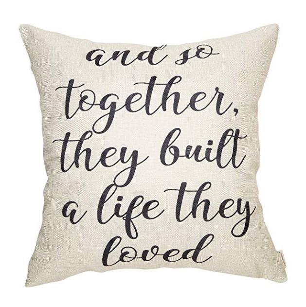 script font pillow