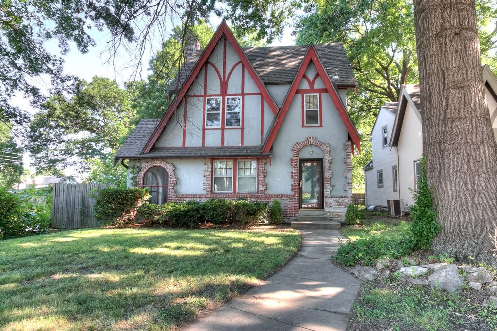 Tudor cottage in Kansas City