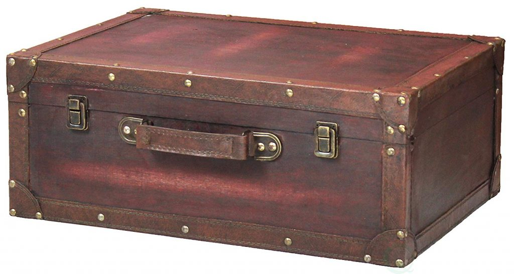 vintage-style trunk