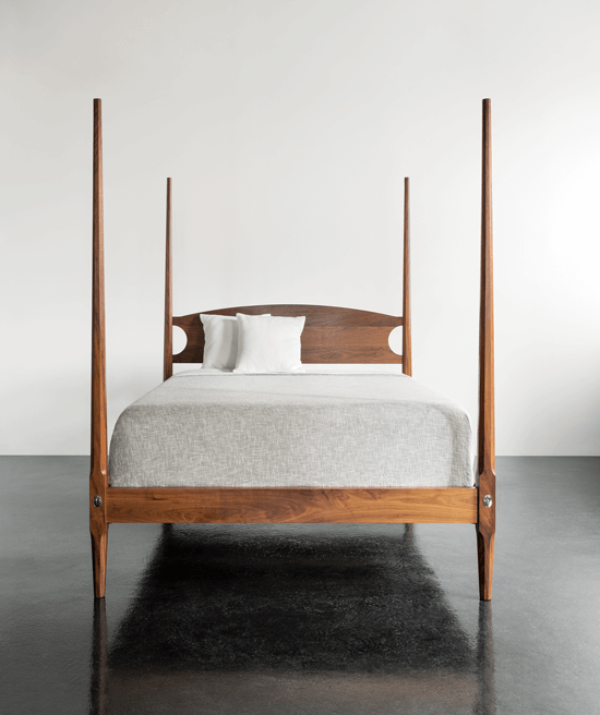 Thos. Moser four poster bed