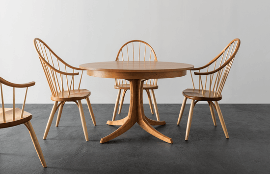 Thos.Moser table and chairs