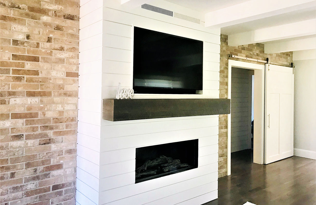 State St Bungalow How To Build A New Fireplace Cottage Style