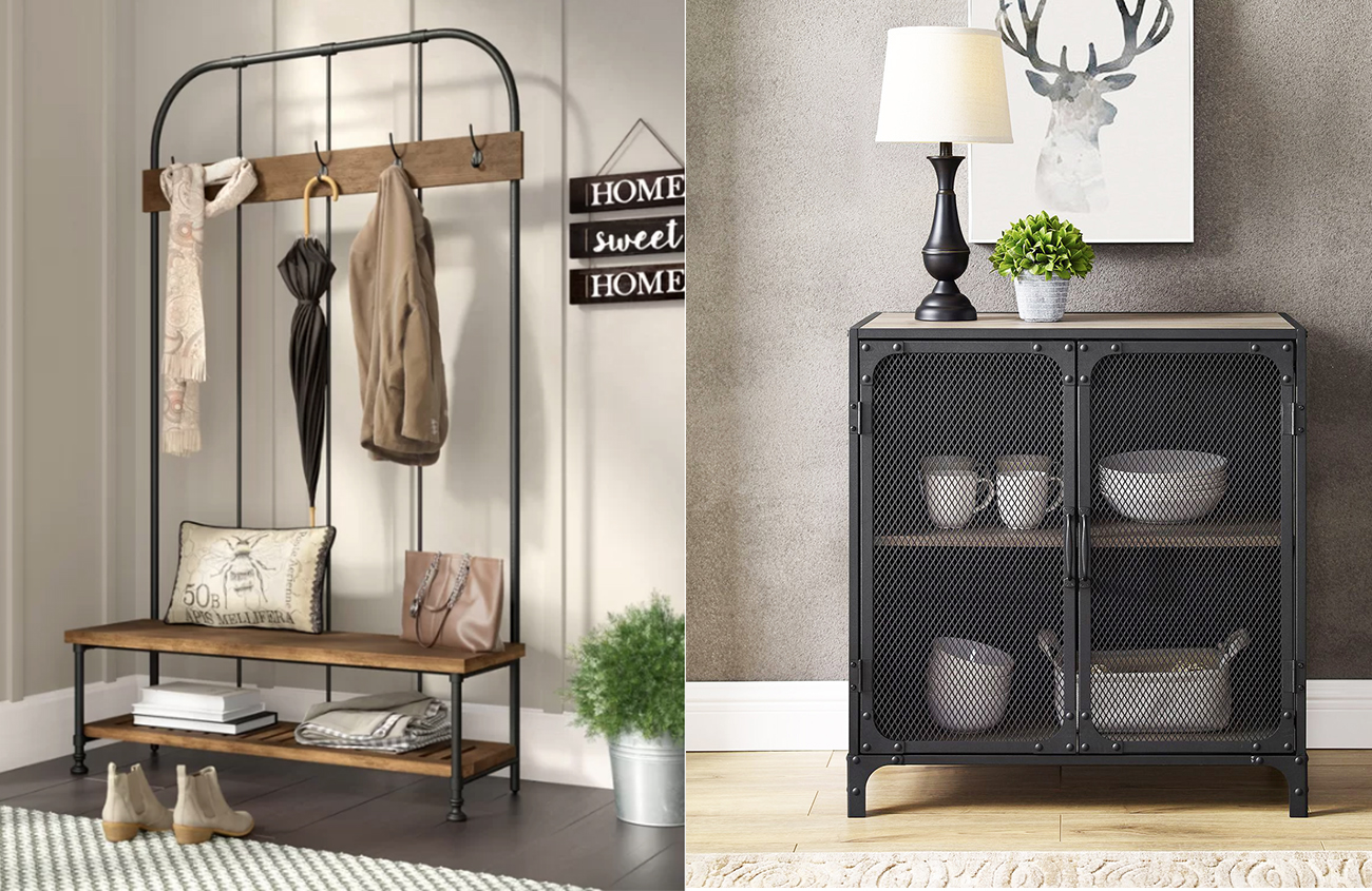 Modern Industrial Style Furniture To Give Your Cottage An