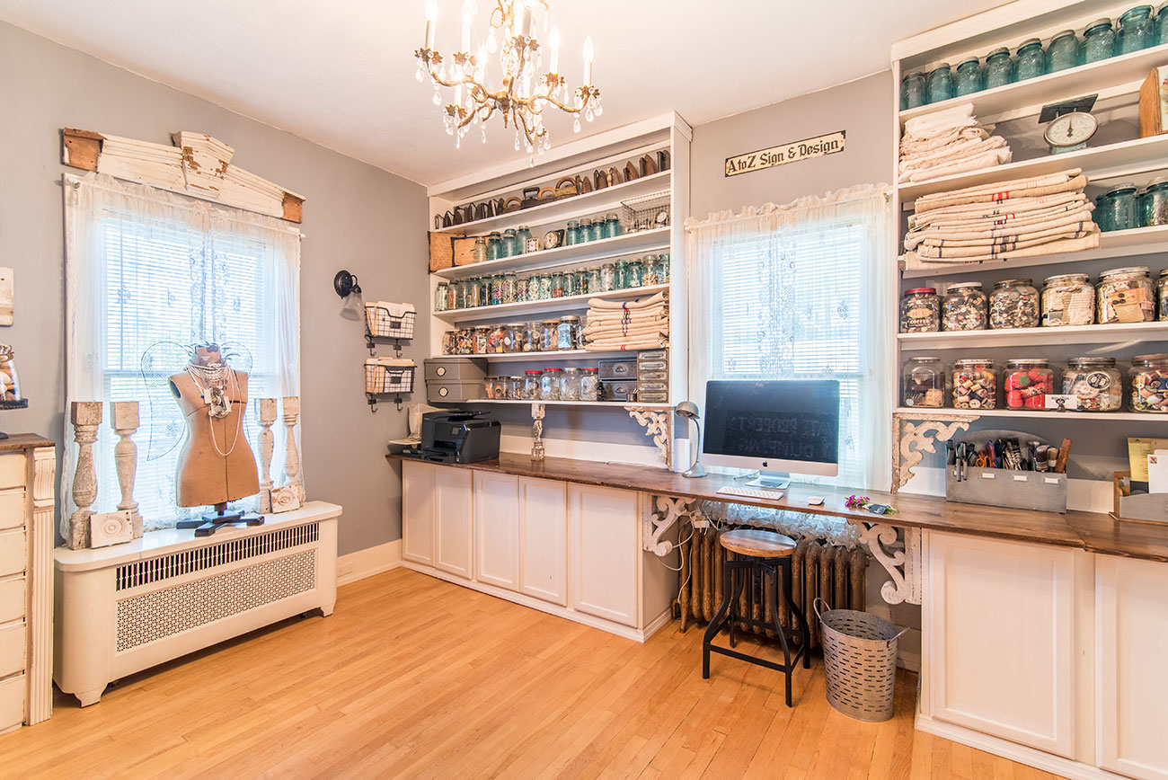 8 Creative Tips to Organize Your Craft Room - Cottage ...